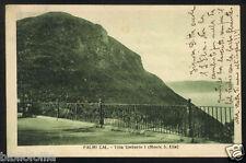 Cartolina - PALMI ( Reggio Calabria ) Villa Umberto I - Monte S. Elia - VG 1926