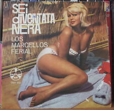 "LOS MARCELLOS FERIAL SEXY CHEESECAKE PIN UP COVER 45t 7"" ITALY PRESS EP DURIUM"