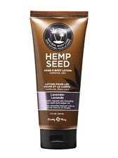 Earthly Body Hemp Seed Hand & Body Lotion 207mL Lavender