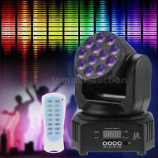 40W Mini LED Moving Head Light Disco Party Stage Wash Light DMX 7/13CH US K1I0