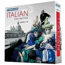 Pimsleur Italian Levels 1-4 Unlimited Software : Experience the Method That...