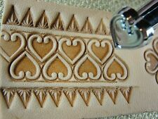 Leather Stamping Tool - O85 Heart Geometric Stamp