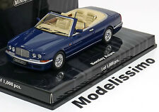 1:43 Minichamps Bentley Azure with removable Softtop 1996 blue