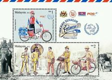 Postman's Uniform  Malaysia 2012 Mail Deliver Bicycle Motorcycle Postal (MS) MNH