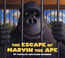 The Escape of Marvin the Ape by Caralyn Buehner (2007, Board Book)
