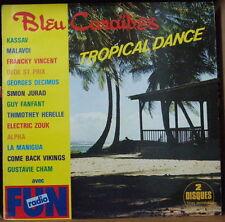 BLEU CARAÏBES TROPICAL DANCE COMPIL' BIGUINE DOUBLE FRENCH LP