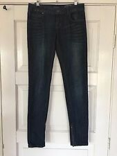 "Womens STRETCH JUST JEANS JEANS SIZE 9 ""LOW, THE SUPA SKINNY""  Z FIT"