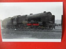 PHOTO  LMS LOCO 6154 THE HUSSAR FOWLER ROYAL SCOT
