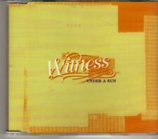 (DR437) Witness, Under A Sun - 2001 DJ CD
