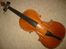 "Nice old 4/4 (or 7/8?) Violin NR violon ""Carl Sattler Pforzheim"""