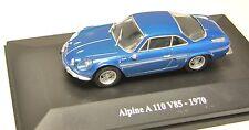 RENAULT UNIVERSAL HOBBIES / ELIGOR 1/43  Alpine A 110 V 85 - 1970-  /49