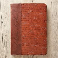 Journal Lux-Leather I Know the Plans Brn Jer 29:11 (2016, Hardcover)