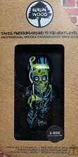 "BerlinWood ""Radio Zombie"" 33,3mm single Deck Fingerboard handmade blackriver"