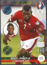 PANINI EURO 2016 ADRENALYN XL CARD- #402-SWITZERLAND-ONE TO WATCH-BREEL EMBOLO