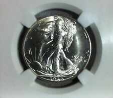 1946-D Walking Liberty Silver Half Dollar - NGC MS 65