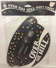 Over The Hill Party Visors Prank Gag Grandpa Birthday Retirement Gift