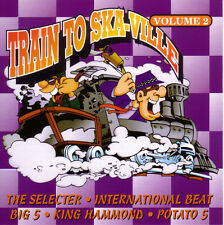 TRAIN TO SKAVILLE VOL. 2 Sampler CD (1995 Step 1 Records)