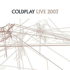Coldplay - Live 2003 [ECD] (CD+DVD, 2 Disc Set, 2003, Capitol Records)