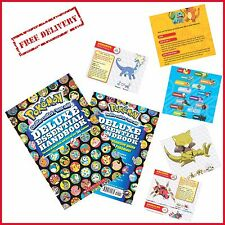 Pokemon Deluxe Essential Handbook Paperback Stats and Facts on Over 700 Pokémon