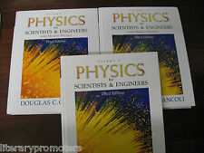 PHYSICS FOR SCIENTISTS AND ENGINEERS Set of 2 only.DOUGLAS C GIANCOLI Modern