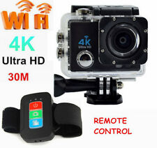 Ultra HD 4K 16MP 2'' Waterproof Action Sports Wi-Fi LCD Camera as GoPro + Remote