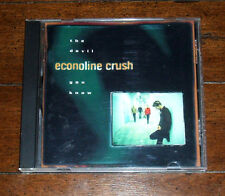 CD: Econoline Crush - The Devil You Know / HDCD Home Surefire All That You Are