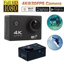 F60 4K 30FPS 16MP 170° HD WiFi Sports Action Camera Helmet Camcorder For Driving