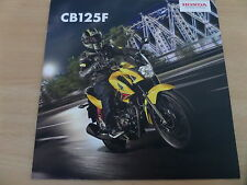 Honda CB125F Motorcycle Sales Brochure 2015