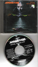 "ANNIHILATOR original CD ""Never Neverland"" 1990 on Roadrunner"