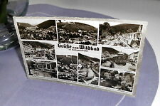 AK Wildbad im Schwarzwald - SW-Karte von 1957