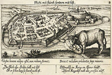 Gotha-pájaro mira-algocompletamente-grabado 1623-1631