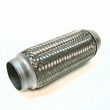 "New 2.5"" x 8"" Exhaust Flexi Pipe Flex Joint 200mm X 60mm Flexipipe Cat Repair"
