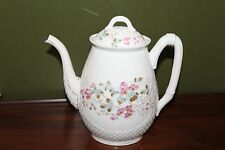 ANTIQUE LIMOGES FRANCE DEPOSE  FLOWERS OFFEE TEA POT