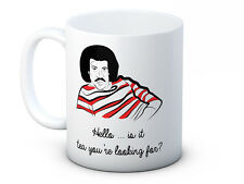 Hello... is it Tea You're Looking For? Lionel Richtea Quality Ceramic Funny Mug