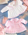 Vintage  Baby Matinee Coat Lace Pattern 12