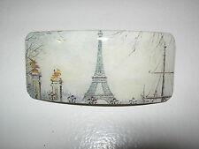 BARRETTE A CHEVEUX PARIS FRANCE TOUR EIFFELTOWER HAIR CLIP SLIDE TORRE PARIGHI