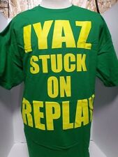 IYAZ STUCK ON REPLAY T-SHIRT 2XL MEN'S GREEN/YELLOW