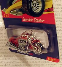 RLC EXCLUSIVE REAL RIDERS SCORCHIN' SCOOTER MOTORCYCLE SPECTRAFLAME HOT WHEELS