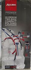 Allen Sports Aluminum Folding Trunk 2 Bike Mount Bicycle Rack Car SUV Van New