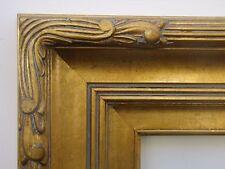Wide Gold Plein Air Art Deco Antique Style Landscape Canvas Picture Frame 16x20