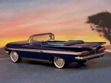 59 1959 CHEVY IMPALA CONVERTIBLE 1/64 SCALE DIECAST COLLECTIBLE DIORAMA MODEL
