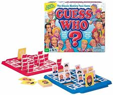 CLASSIC GUESS WHO Mystery Face Board Game Hasbro original Names NEW Sealed