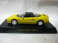 1:64 Kyosho Honda NSX TYPE R Yellow Diecast Model Car