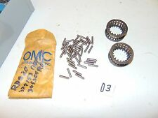 Used OMC Johnson Evinrude 2 Retainer 305364, Plus 40 Needles Lot