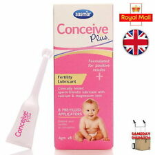 Sasmar Conceive Plus Fertility Lubricant Individual Use Applicators -8 Pack UK