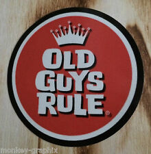 "Retro adesivo/sticker ""Old Guys"" US v8 ratrod Hot Rod-pinup Oldschool 0146"