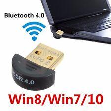 USB 2.0 Wireless Bluetooth V4.0 Radio Dongle Adattatore EDR Per PC  Win 7 8 10