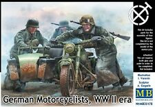 MODEL KIT MAS35178 - Masterbox 1:35 - German Motorcyclists, WWII era