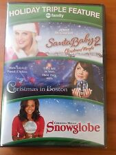 SANTA BABY 2 / CHRISTMAS IN BOSTON / SNOWGLOBE (DVD, 3-Feature) - Brand New!!