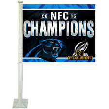 Carolina Panthers 2015 NFC Champs Car Auto Window Flag